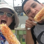 Frank stops by with some fresh and delicious elote