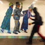 subway mosaics